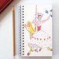 Notebook, Sketch Book, Journal, Diary Song Bird + Junior Artist Design