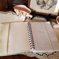 """Cameo"" A5 Notebook Cover"