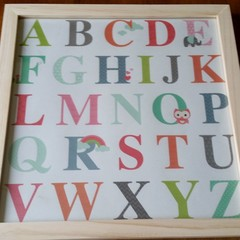 Children's ABC frame