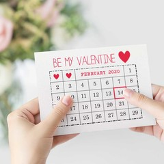 Valentine's Day Card, February Calendar 2020, HVD005