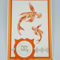 Swimming Koi - Gift Card