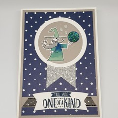 Wizard 'One of a Kind' - Birthday Card