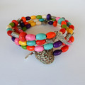 Colourful Wrap Bracelet