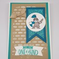 Knight 'One of a Kind' - Birthday Card