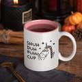 Rude Funny Unicorn Shuh Duh Fuh Cup Ceramic Personalised Coffee Tea Mug - CM019