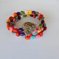 Colourful Wrap Bracelet