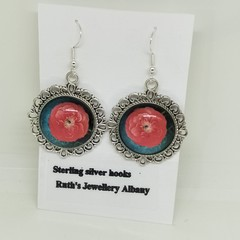 Poppy statement earrings