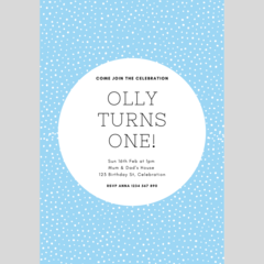 BIRTHDAY INVITATION - CUSTOMISED PRINTABLE DOWNLOAD, BOY BIRTHDAY
