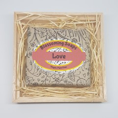 Artisan Soap Aromatherapy LOVE in box Valentines Day