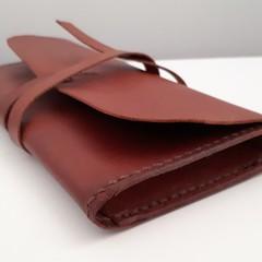Leather Clutch Purse