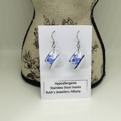 Tea for 2 necklace and earrings set