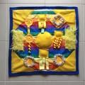 Dementia Alzheimers Fidget Quilt Lap Sensory Blanket Mat 60cm x 60cm