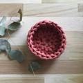 Crochet basket | essential oils | home decor | storage basket | TERRACOTTA