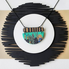 AQUA-CADABRA STATEMENT NECKLACE