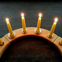 Special order for Sandy - Celebration ring candles wholesale