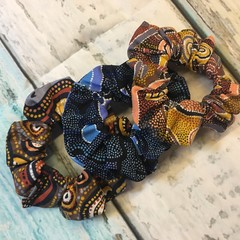 INDIGENOUS/ AUSTRALIAN HAIR SCRUNCHIES