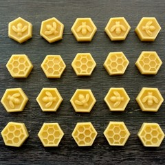 Special order - Beeswax hexagons  wholesale