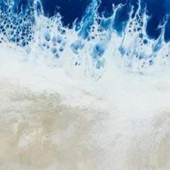 """Sandy Shore""  Original Painting Beach House Art  - Free shipping Australia"