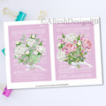 French Dictionary Florals 2