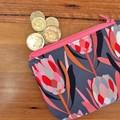 Coin purse - Protea