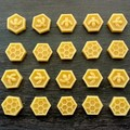 Special order for Sandy - Beeswax hexagons  wholesale