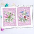 French Dictionary Florals 1