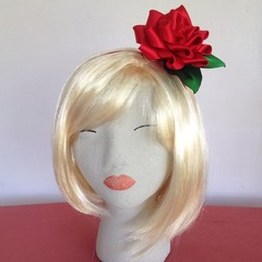 """Red Beauty"" Fascinator Headband"