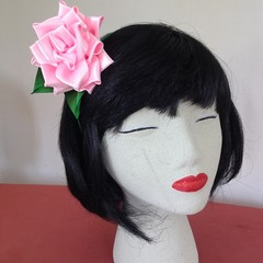 """Pink Bouquet"" Fascinator Headband"
