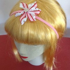 """Pretty In Pink Carmen""  Soft Headband"