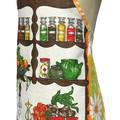 Metro Retro * Vintage COOKS KITCHEN * Tea Towel Apron