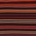 Multi Coloured Striped Outdoor Pillow Cover.