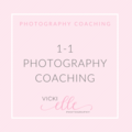 1-1 Photography Coaching