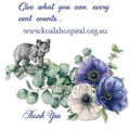 Koala Eucalyptus Wreath