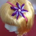 """""""Purple Carmen"""" Wire Headband"""