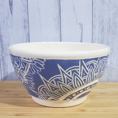 Blue Mandala Bowl
