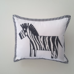 Nursery Cushion/nursery decor/baby shower gift, zebra cushion