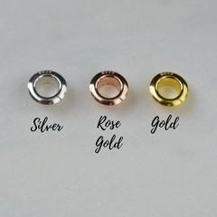 Natural Amazonite Gemstone European Bead Bracelet Charm