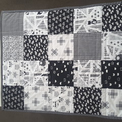 Baby quilt/blanket, playmatm change mat, pram blanket, baby quilts