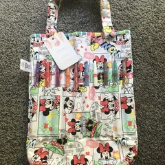 Minnie Mouse Colouring Book Bag