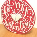 For My Valentine card Greeting Card Valentine's Day