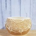 Brown Mandala Bowl