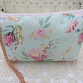 Ladies Wristlet Clutch- Protea's - Day Wear, Race Day, Garden Party