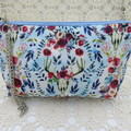 Ladies Wristlet Clutch- Boho Deer - Day Wear, Race Day, Garden Party