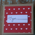 Valentine's Day Card I love your {fill in blank} Anniversary Card