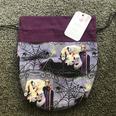 Disney Villian Lined Drawstring Bags
