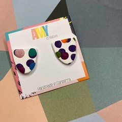 Confetti Medium Arc stud earrings