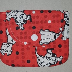 Dalmation coin pouch