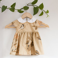 Size 1-Vintage Upcycled PeterPan Toddler Dress