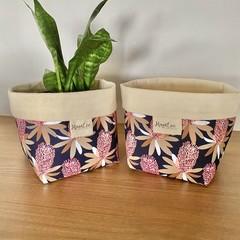 Waratah  storage Basket -medium