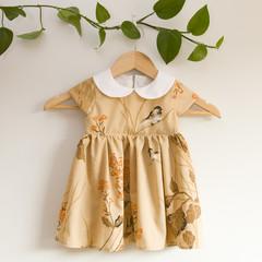Size 2-Vintage Handmade Peter Pan Toddler Dress